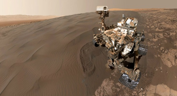 The Mars Curiosity rover just did something incredible
