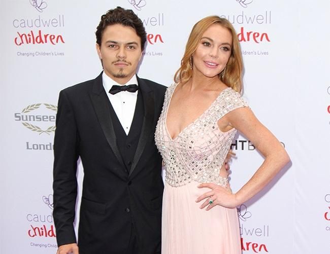 Lindsay Lohan slams ex-fiancé Egor Tarabasov