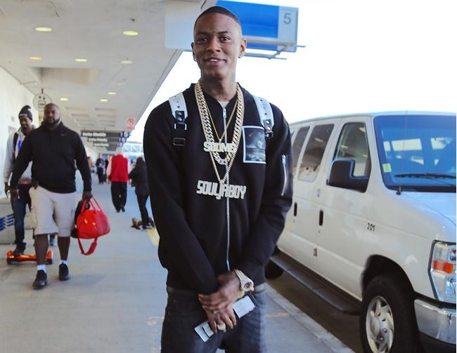 Soulja Boy sparks Twitter feud with Chris Brown