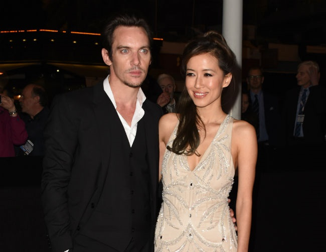 Mara Lane and Jonathan Rhys Meyers are expecting a baby