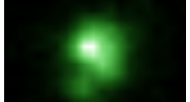 Discovery of 'green pea' galaxy could unlock the secrets of the universe