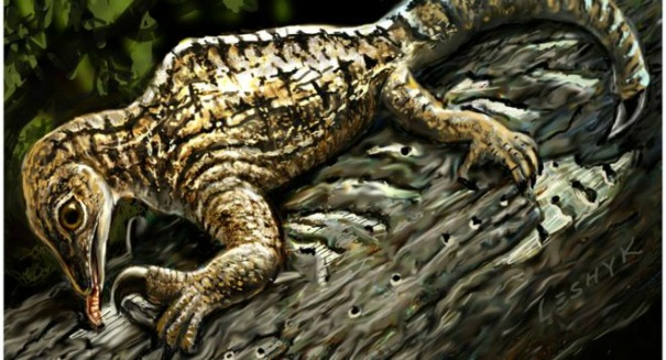 Bizarre reptile fossil shocks scientists
