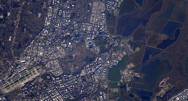 You won't believe the incredible view of the Super Bowl from the ISS