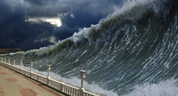 Is a tsunami about to slam into Southern California?